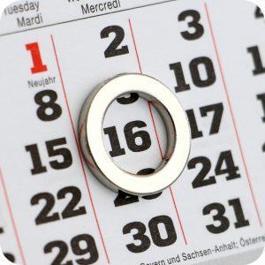 Materiały do produkcji kalendarzy
