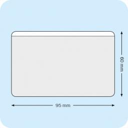 Business card pockets 95 x 60 mm