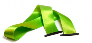satin ribbon flat ends